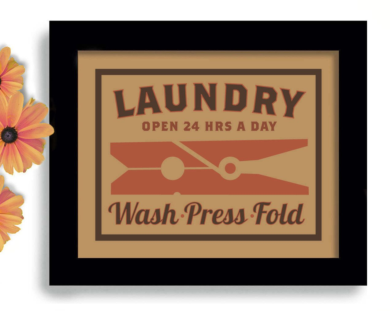 Laundry Room Decor Wall Art Print Kitchen Art Clothespin Laundry Sign. $18.00 via Etsy.  sc 1 st  Pinterest & Laundry Room Decor Wall Art Print Kitchen Art Clothespin Laundry ...