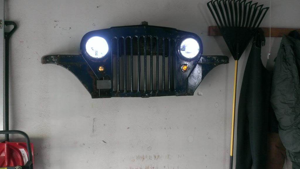 Jeep Man Cave Bar : Jeep grille wall art nice touch for the garage