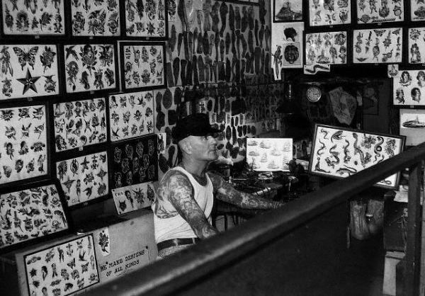 The Forefathers Of Tattooing Old Tattoos Tattoo Shop Tattoo Parlors