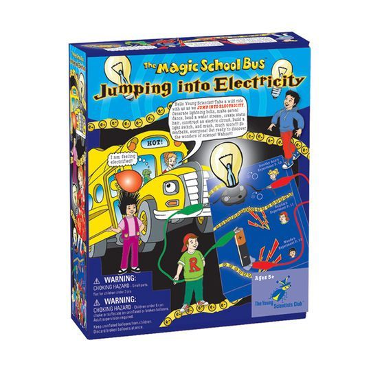 Stem School Bus Org: The Magic School Bus™ Jumping Into Electricity