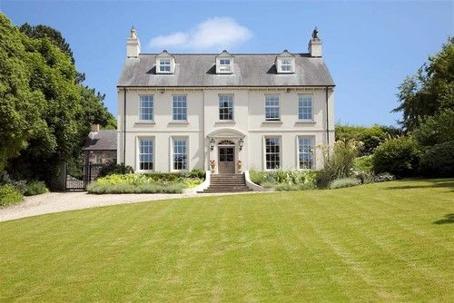 Classical Neo-Georgian country house.\' Des Ewing Residential ...