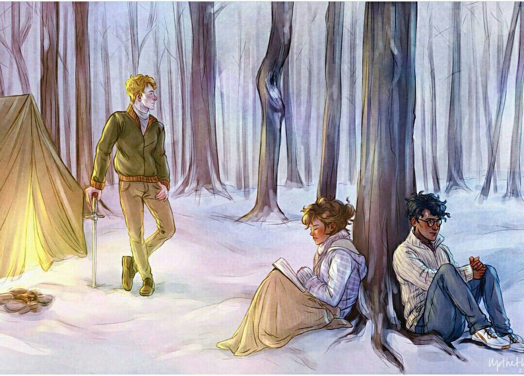 The Forest Of Dean Harry Potter Artwork Harry Potter Drawings Harry Potter Art Drawings