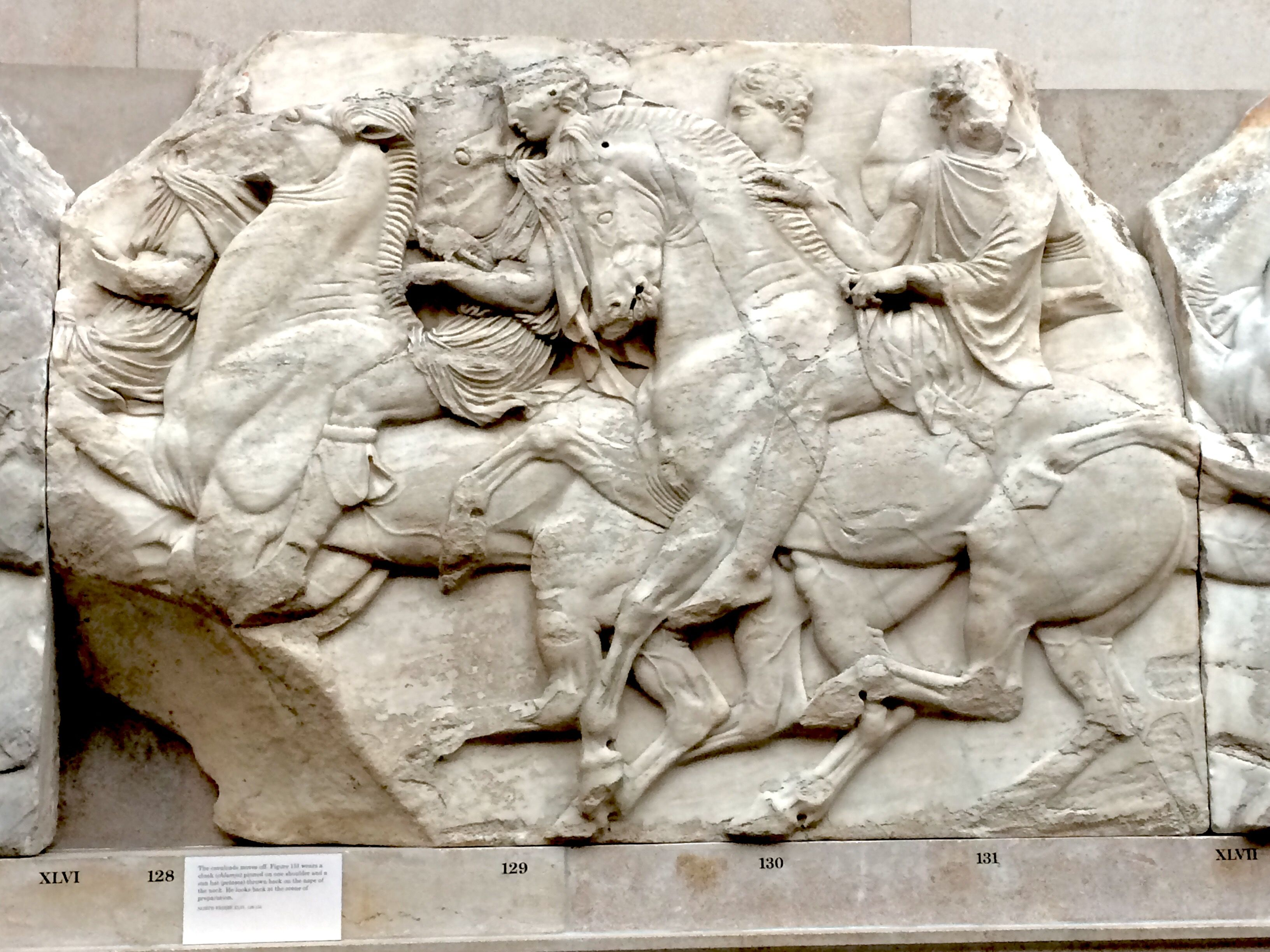 Detail Of The Elgin Marbles The British Museum