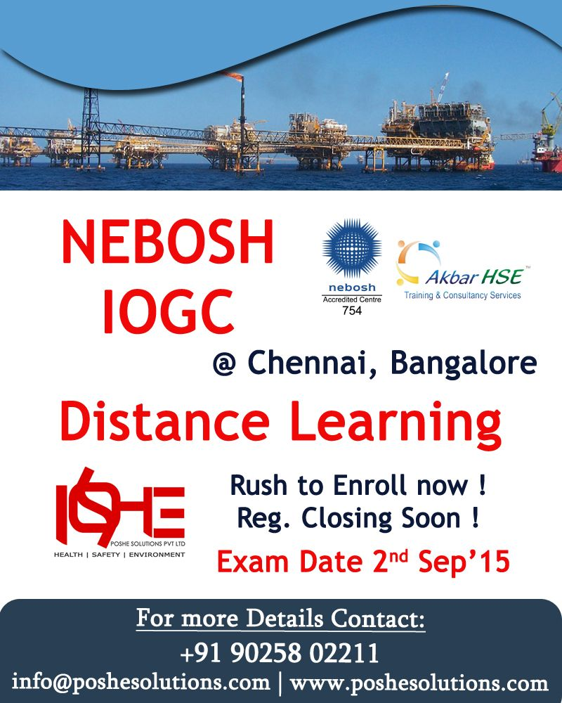 NEBOSH International Technical Certificate In Oil And Gas Operational Safety Is An Exclusive Qualification Designed