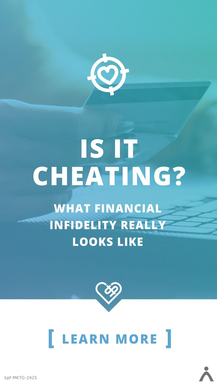 Is It Cheating? What Financial Infidelity Really Looks Like