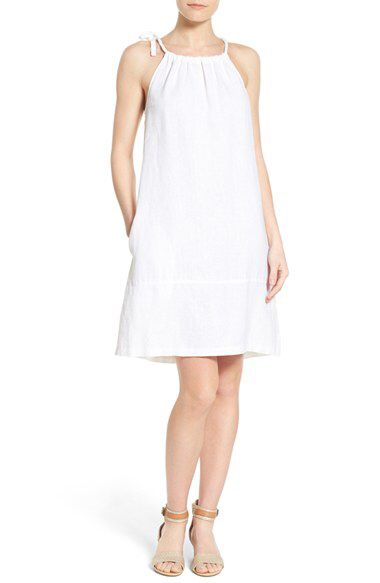 fad3f107c08 Tommy Bahama Tommy Bahama  Two Palms  Linen Shoulder Tie A-Line Shift Dress  available at  Nordstrom