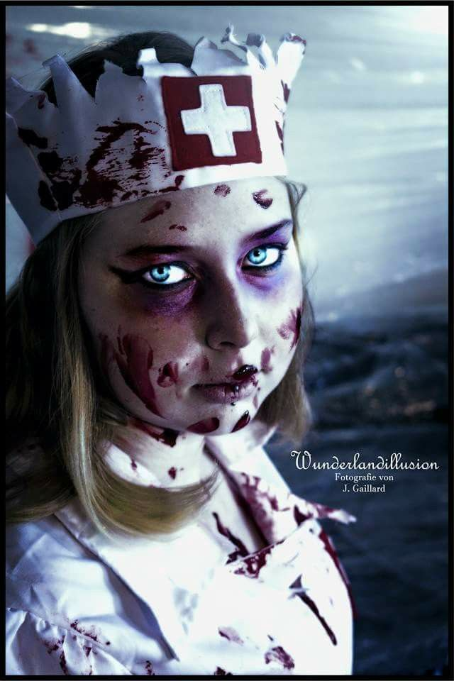 #horror #halloween #nurse #zombie # blood <3 #photographie #wunderlandillusion #shooting