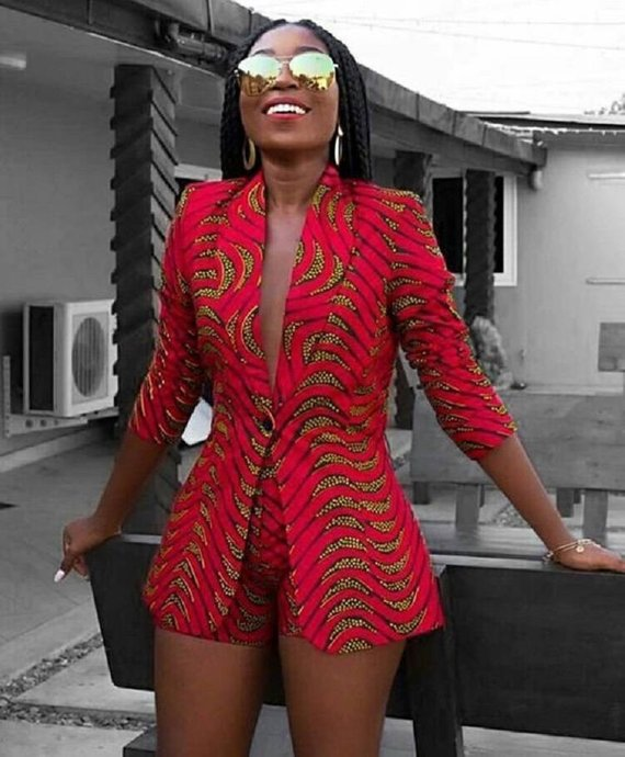 1785b7a5f17 traditionl african fashion looks great. African Print Blazer Jacket with  Shorts - Ankara Print - African Dress - Two Piece Outfit - Handmade