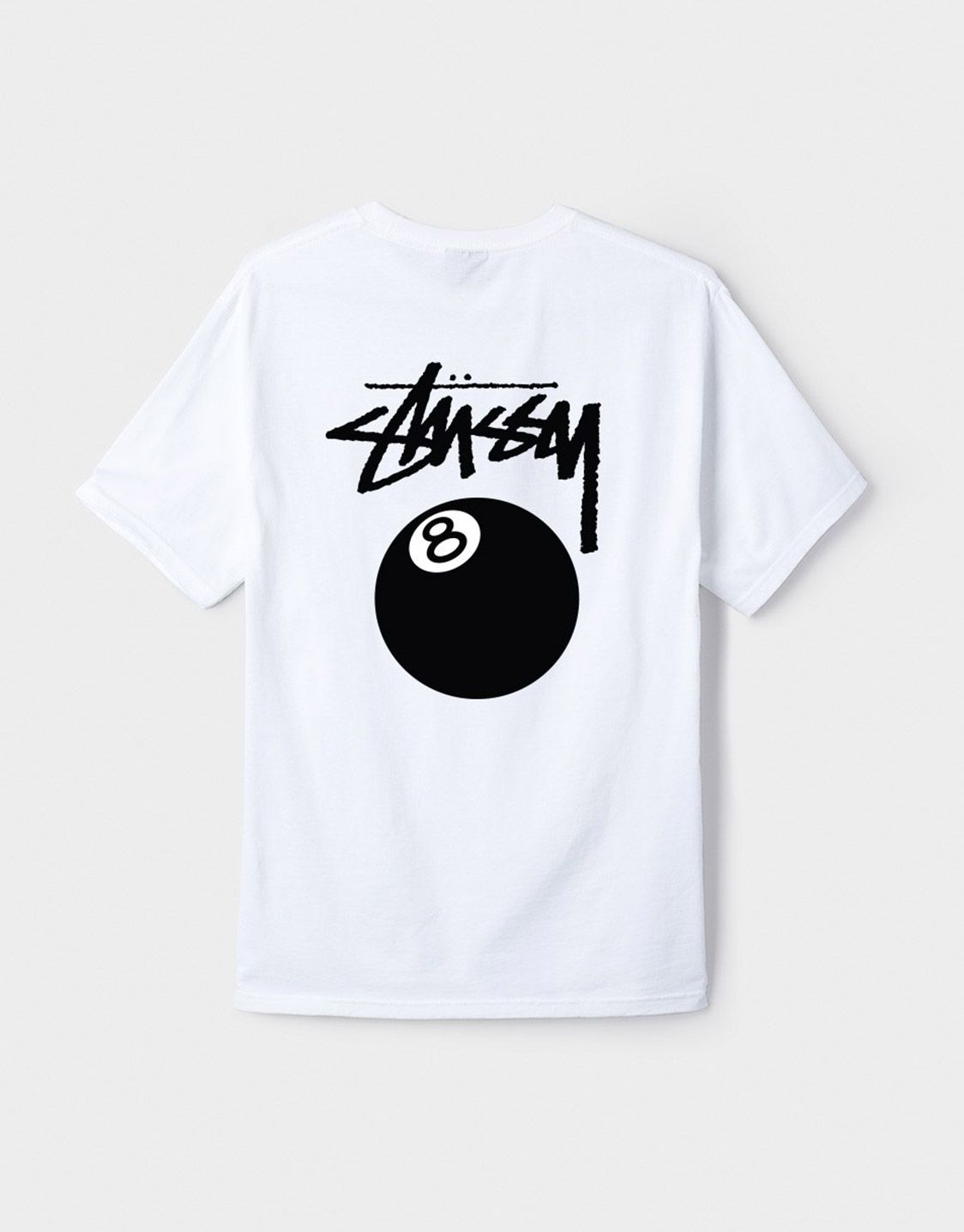 d5df9eb5 Stussy 8 Ball t-shirt in white | STUSSY in 2019 | Stussy, Shirts ...