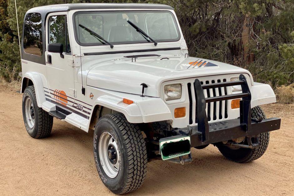 62k Mile 1991 Jeep Wrangler Islander