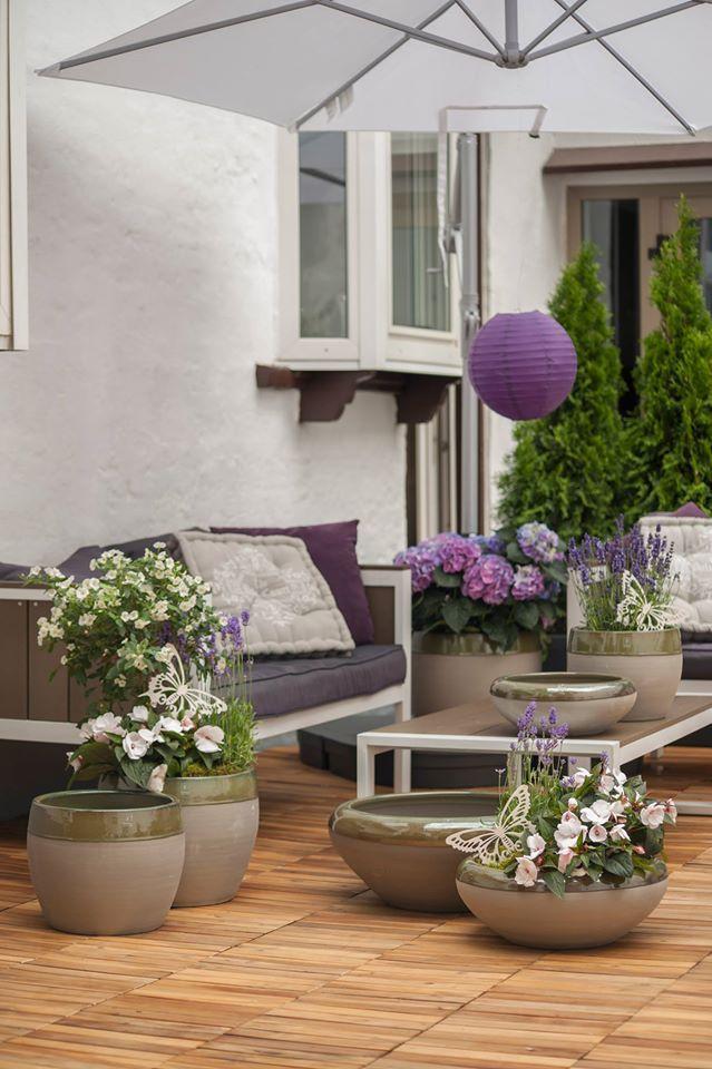 Natürlich schöne Terrassengestaltung mit der Fabriano Serie Brunella