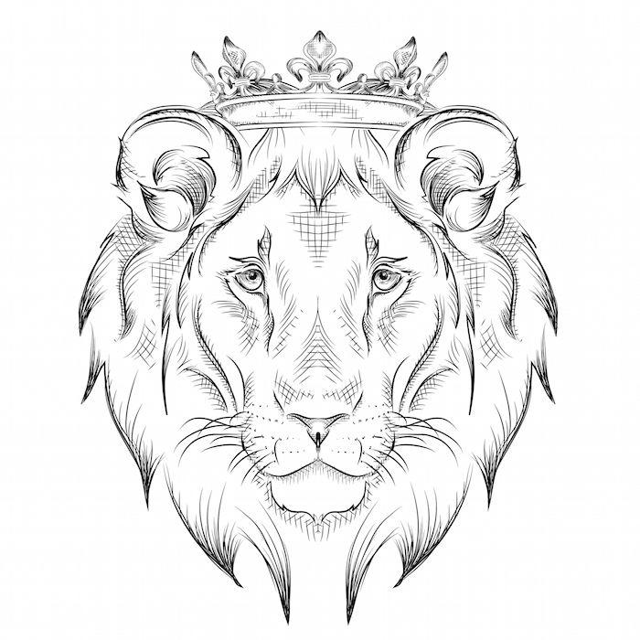 Lowenkopf Jpg 1282 1600 Tiger Art Drawing 0