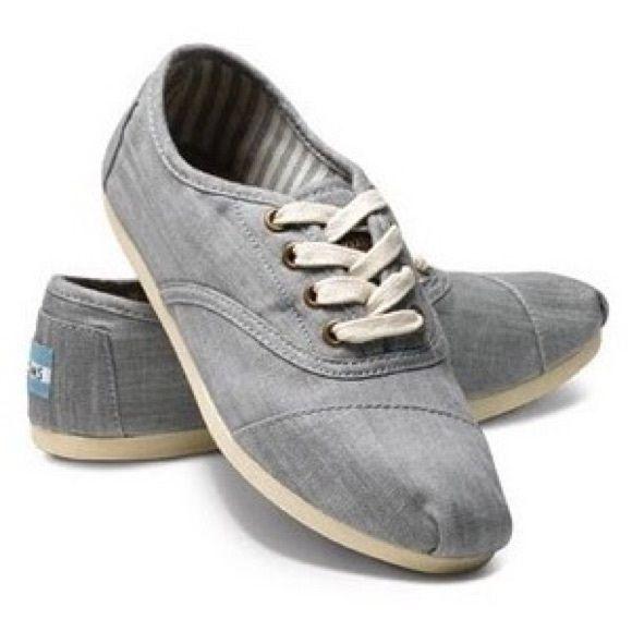 TOMS lace up shoes | Toms shoes, Toms