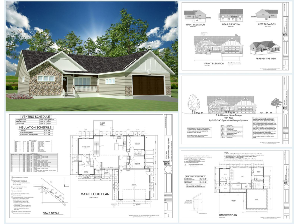100 House Plans Catalog Page 077 Cheap House Plans Architectural Design House Plans Modern House Floor Plans