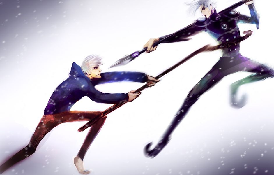 Now this is a battle i would like to see!  Jack Frost vs. Nightlight by Mellownoiz on deviantART
