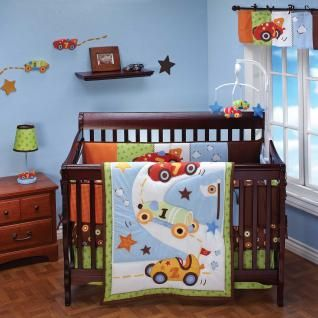 Baby boy vintage race car bedding babysupermall Baby