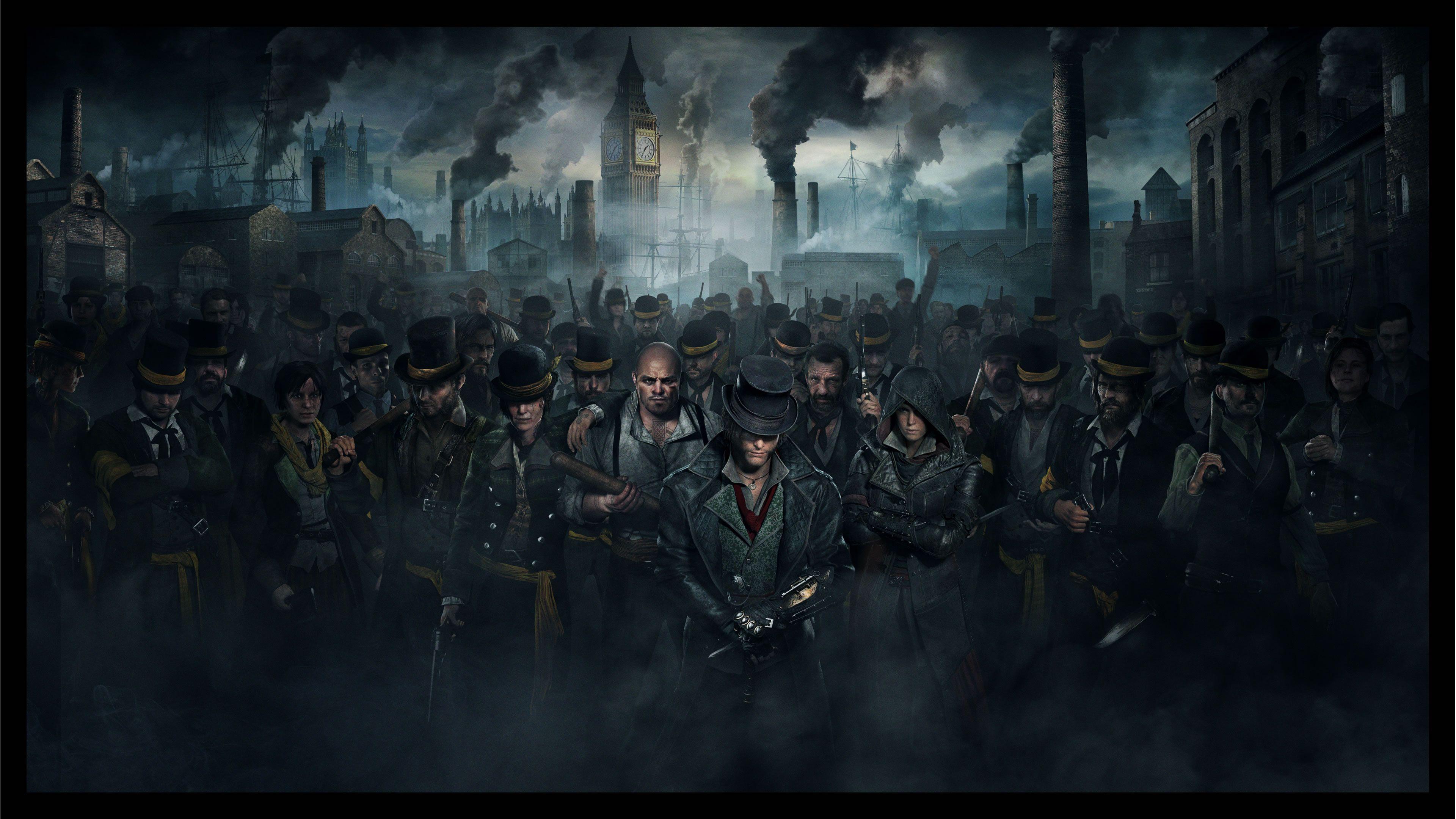 Evie Frye Assassins Creed Syndicate Hd Desktop Wallpaper 風景