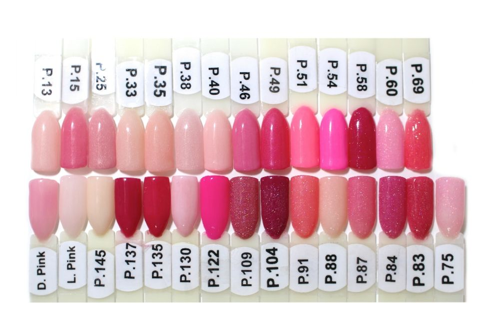 EZ Dip pinks - Oceans of Beauty | Nail colors | Pinterest | Pink ...