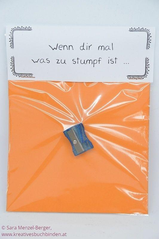 Wenn-Box in orange #selbstgemachtegeschenke