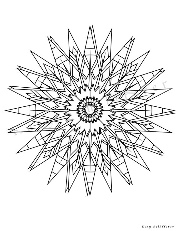 Sun Pattern Adult Coloring Page in 2019 Products Pinterest