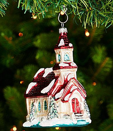 Southern Living Vintage Church Ornament #Dillards Christmas