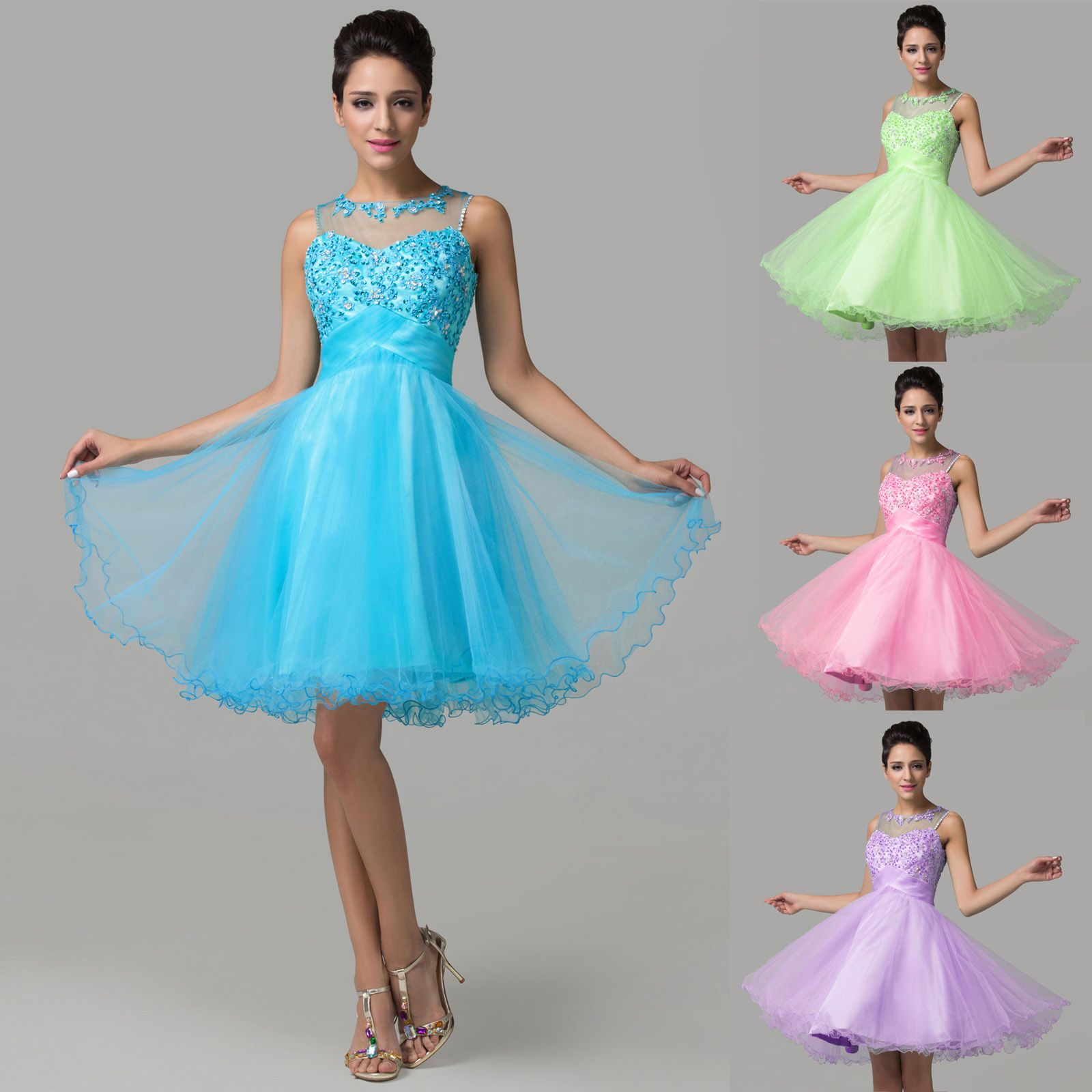 Princess sweet prom homecoming evening party bridesmaid formal ball