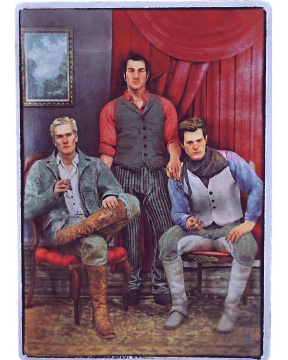 Colourised Image Of Hosea Dutch And Arthur Make Sure To Follow Us Blackwaterledge Red Dead Redemption Artwork Red Dead Redemption Art Red Dead Online