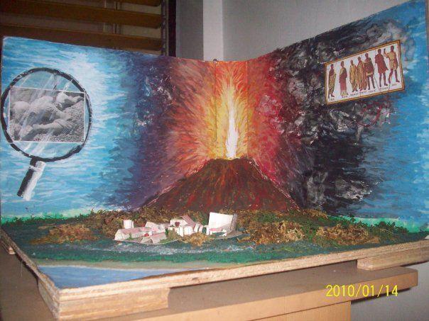 Diorama Pompeii Tragedy By Ljaeddy Pompeii