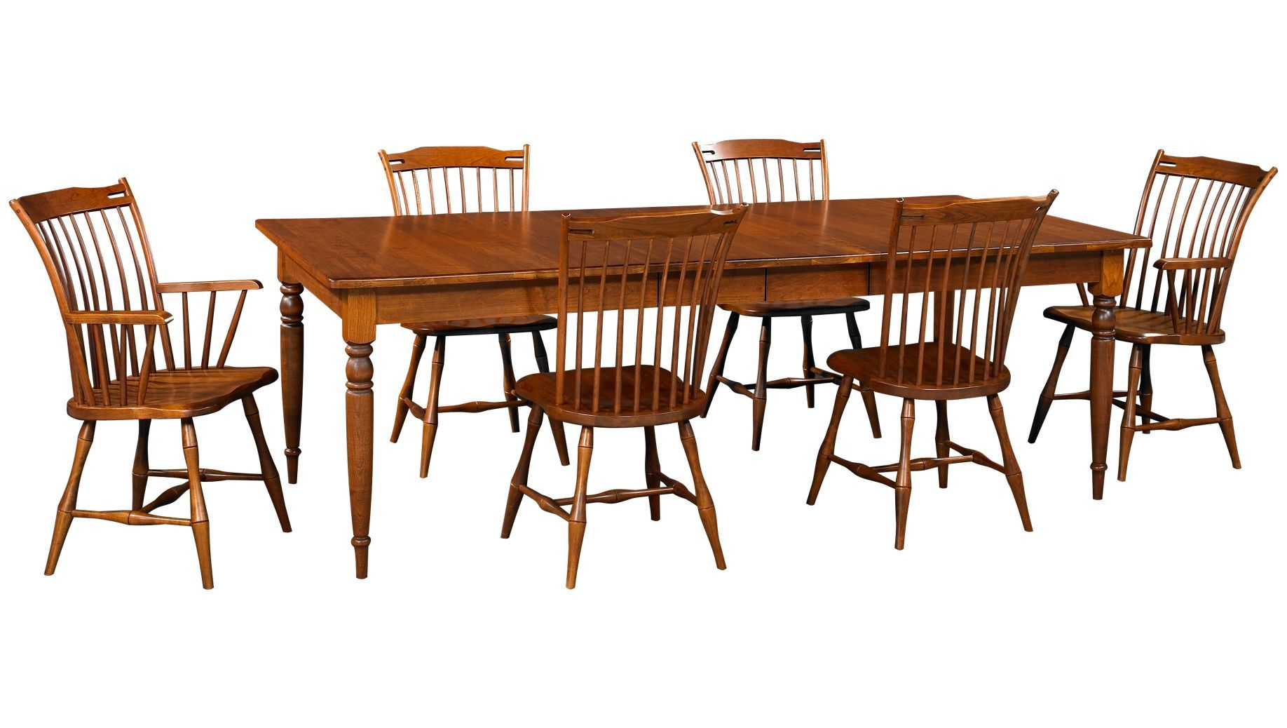 Caperton -Fairview-Fairview 7 Piece Dining Set - Jordan\'s Furniture ...