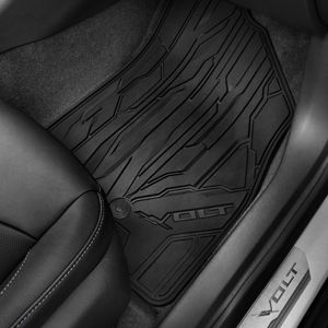 2016 Volt Premium All Weather Floor Mats Front Rear Black 23201124 Chevrolet Accessories Chevrolet Volt Chevy Accessories