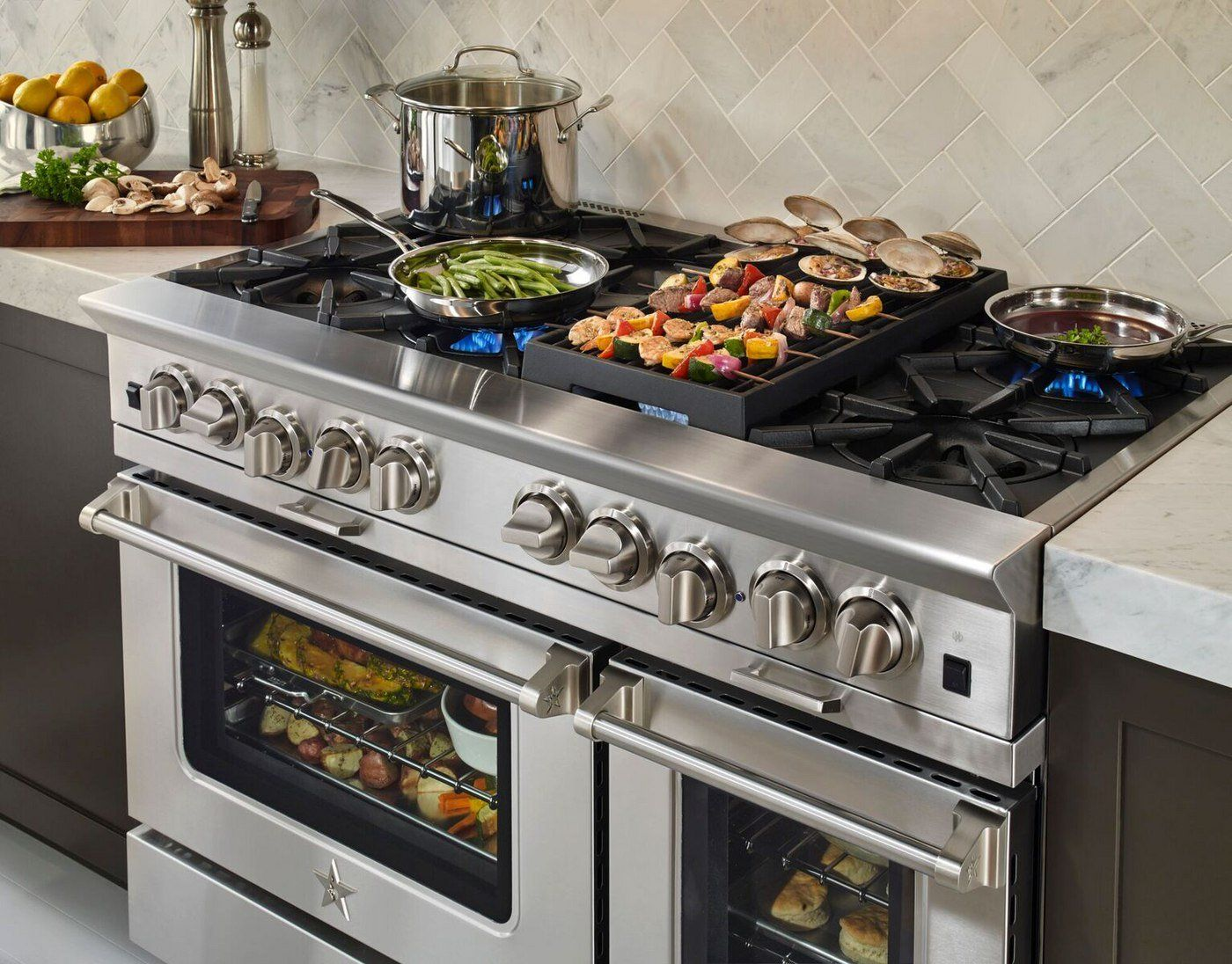 Best 48 Inch Professional Ranges Reviews Ratings Prices Restaurant Kitchen Equipment Quality Kitchens Kitchen Appliances