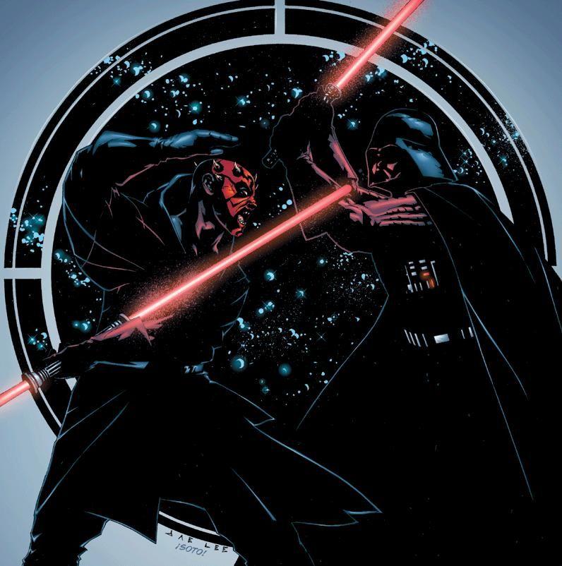 Darth Maul vs Darth Vader - Jae Lee