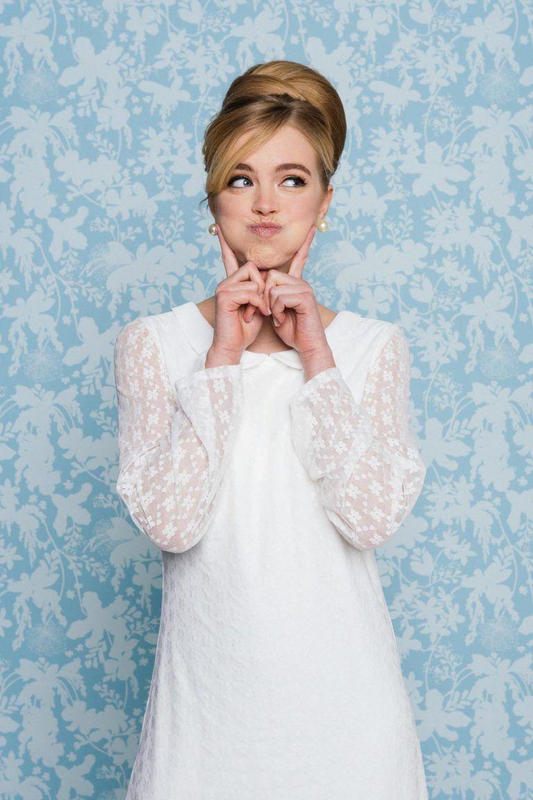 Freches Brautkleid im 15er Jahre Stil – mit unserer Ornella wirst