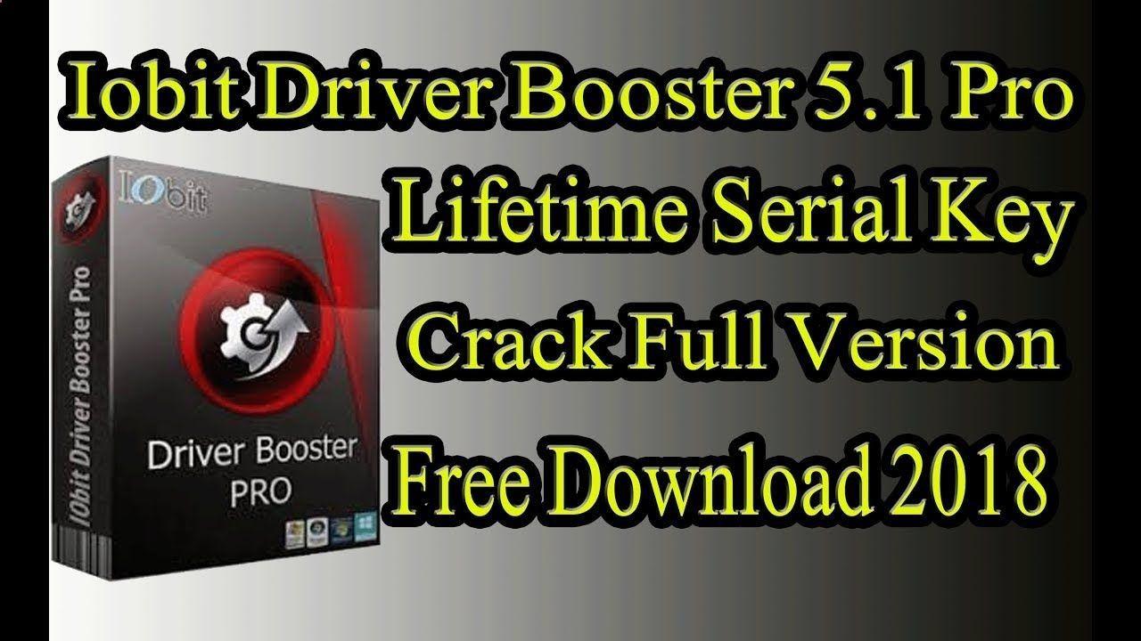 driver booster com serial 2018