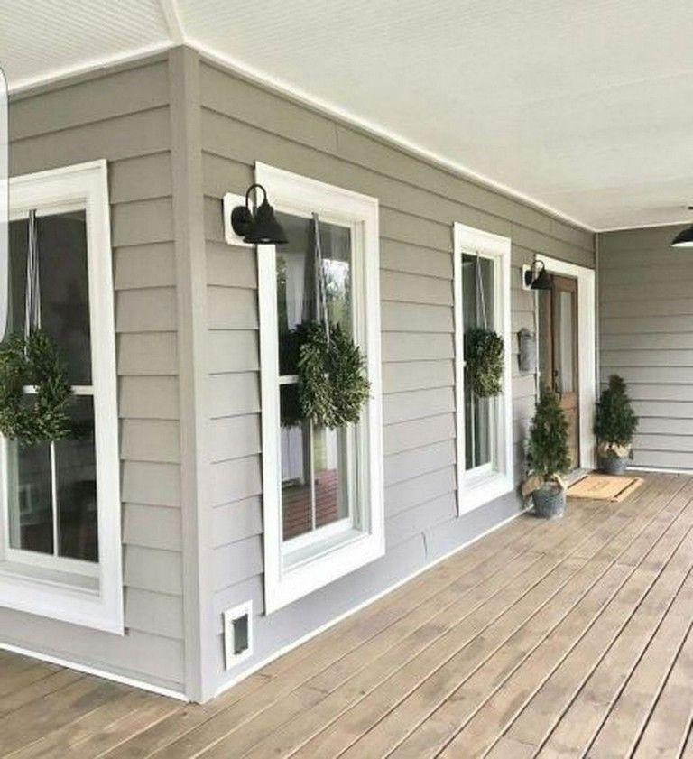 20 Lovely Farmhouse Porch Ideas To Modify Your Ordinary Porch #exteriorhousecolors