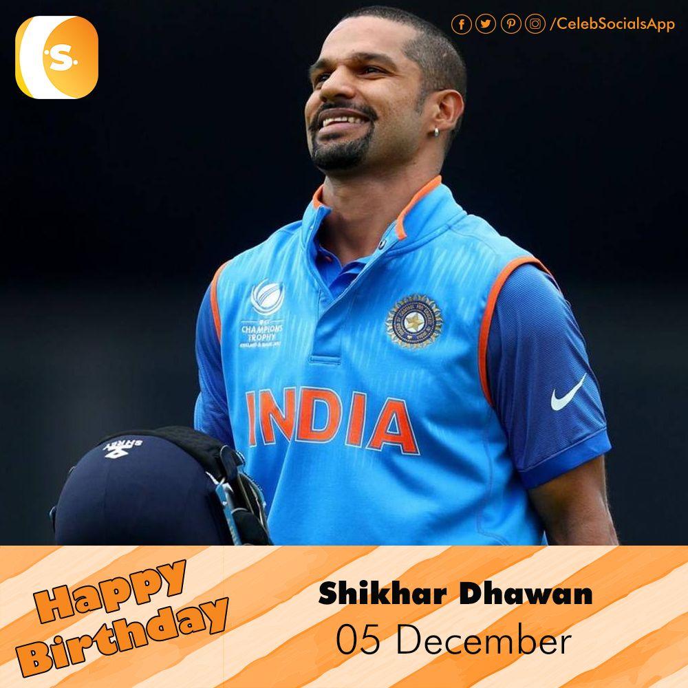 CelebSocials wishes a Very HappyBirthday to Shikhar