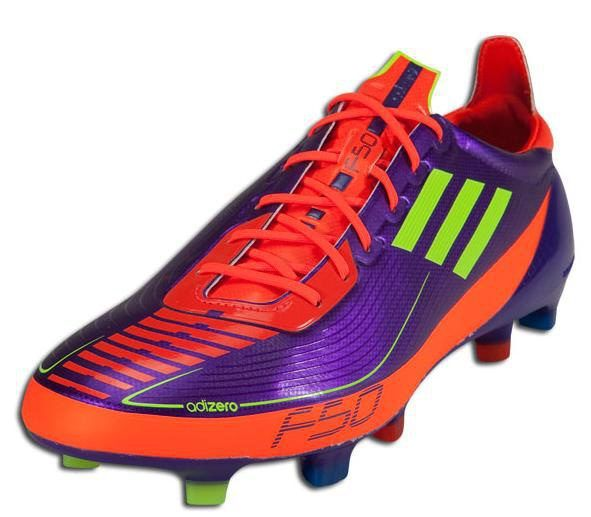 Adidas F50 Adizero Prime FG Fluorescent Green Purple Orange