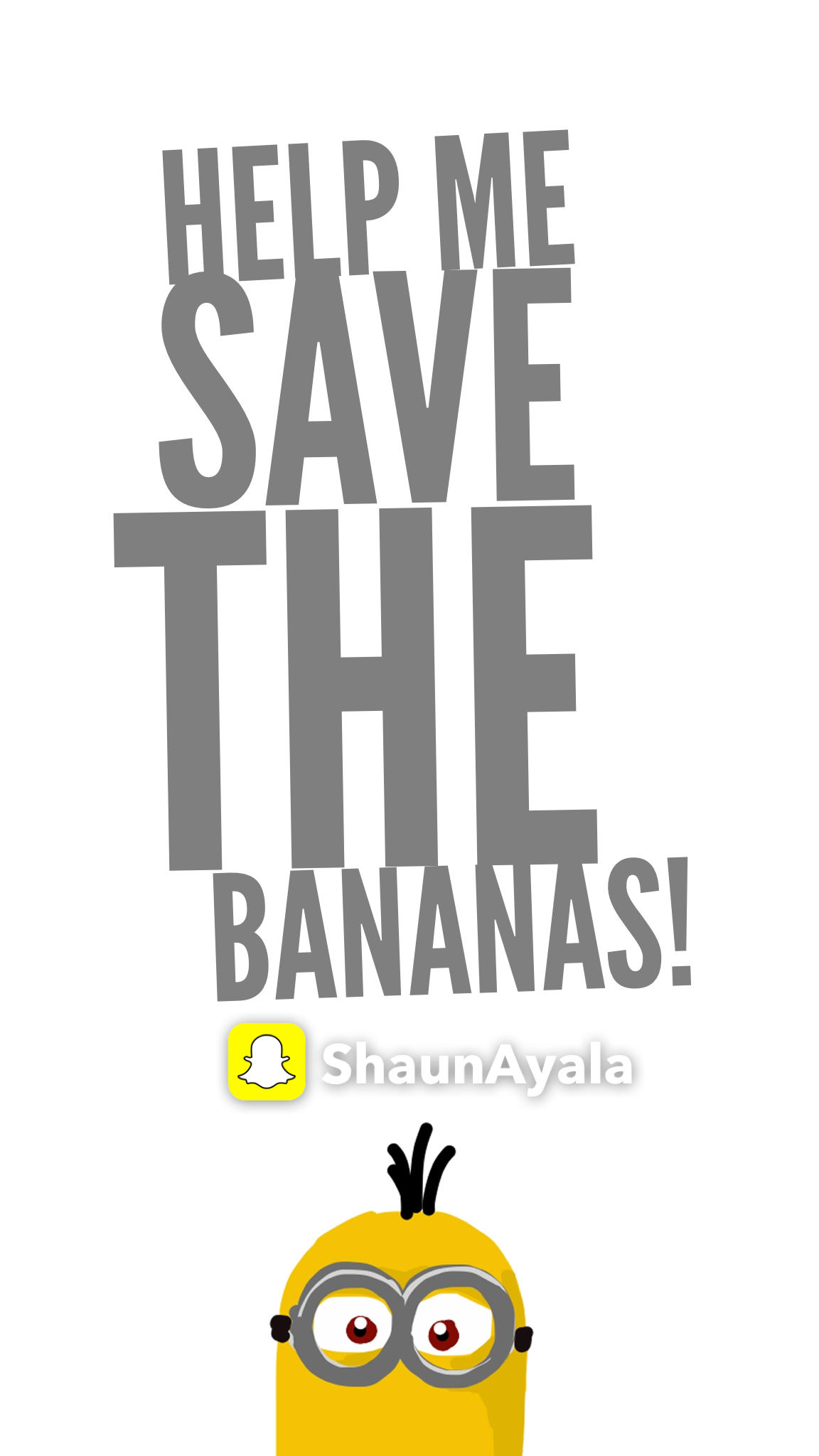 Help Me Save The Bananas!!!!! A Minion Interactive Story In Snapchat