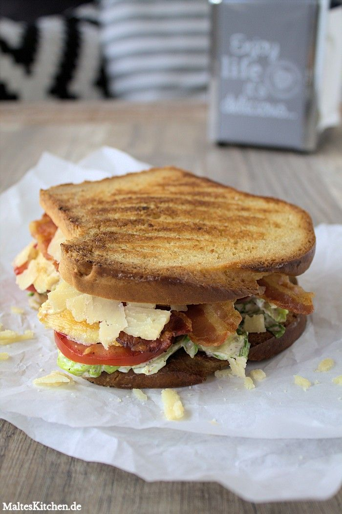 Caesar Sandwich #grilledporksteaks