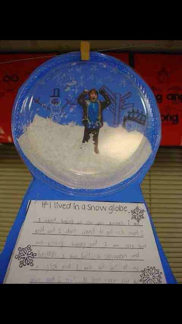 Stuck in a snow globe | 2nd grade style | Pinterest | Eis und Kind