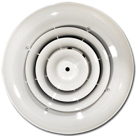 Airtec Mv360s Round Diffuser Grille For 4 5 6 Duct By