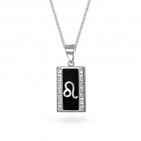 Rhodium-plated 925 Silver Zodiac Pisces Necklace Jewels Obsession Zodiac Pisces Pendant with 24 Necklace