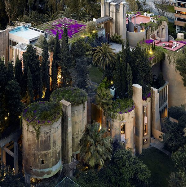 Cement Factory Turned Into An Amazing Home Ricardo Bofill Architect Cement
