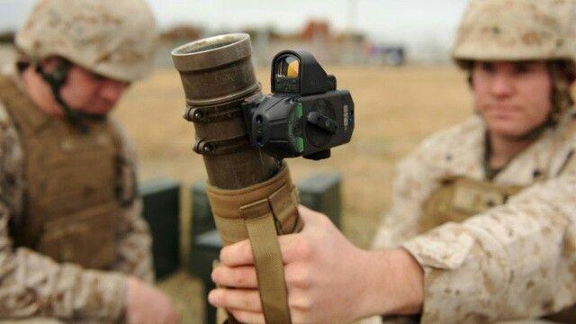 M224 Mortar with futuristic FCU (Fire Control Unit)