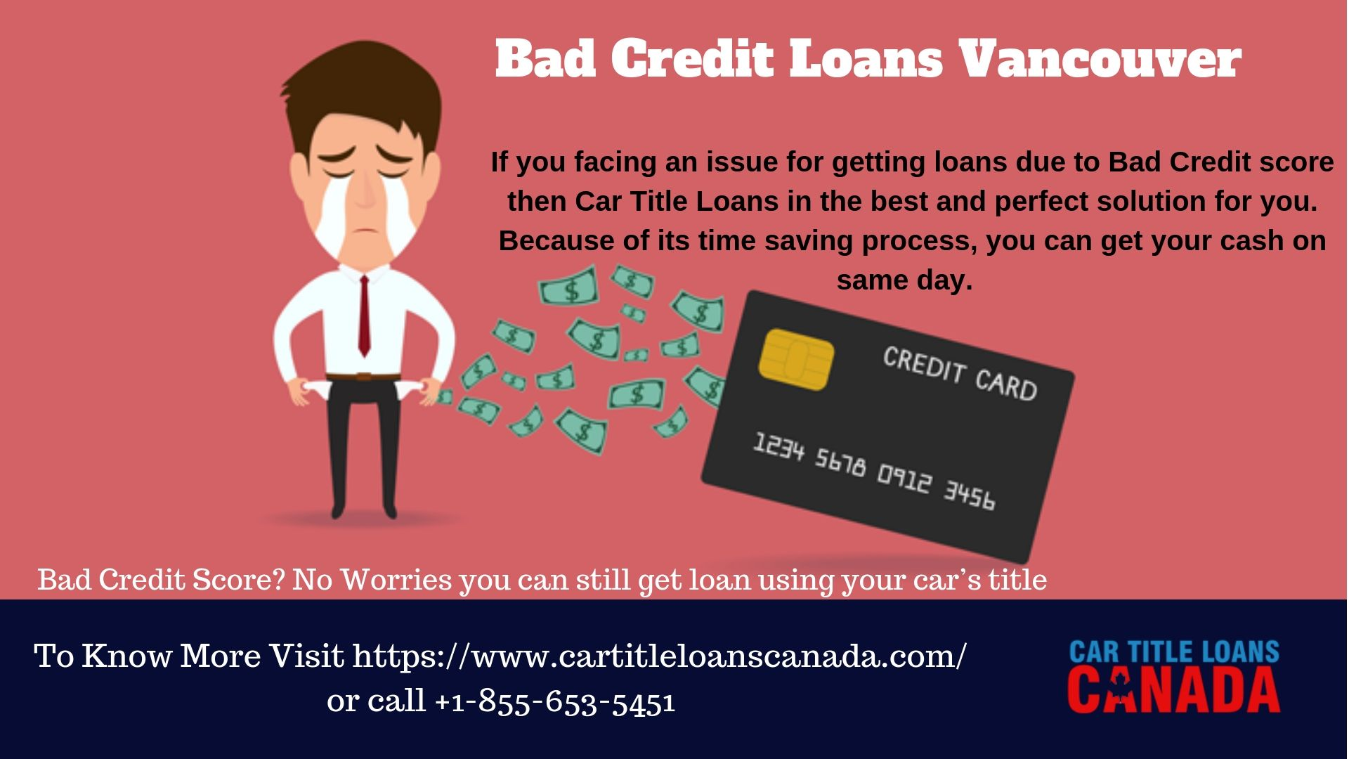 If You Facing An Issue For Getting Loans Due To Bad Credit Score Then Car Title Loans In The Best And Perfect S Car Title Bad Credit Score Loans For Bad