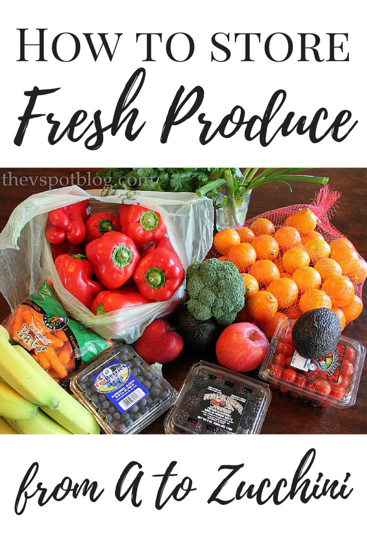 foto How to Store Fresh Produce