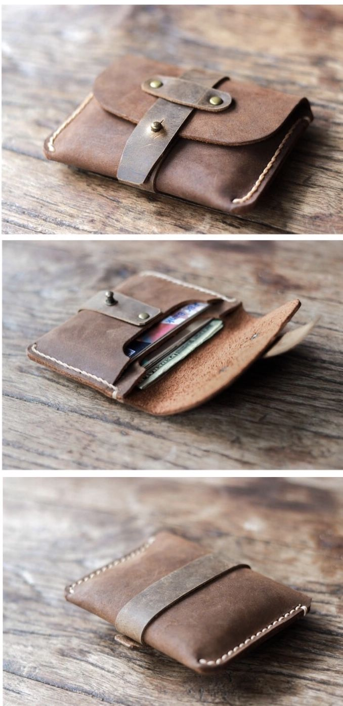 Treasure Chest Credit Card Wallet [Handmade] [Free Shipping]