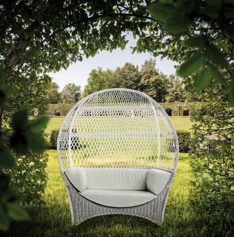 Patio Bereich » Lounge Möbel für Garten und Terrasse \u2013 runde Formen