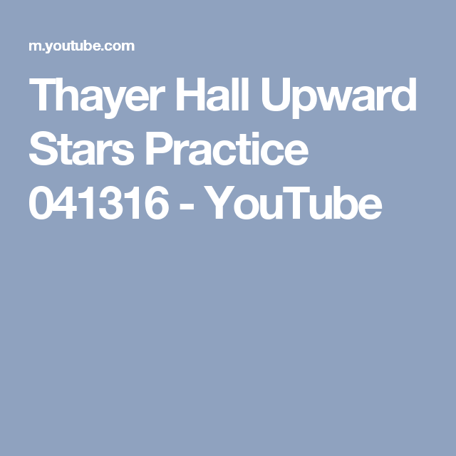 Thayer Hall Upward Stars Practice 041316 Youtube Thayer Practice Volleyball Practice