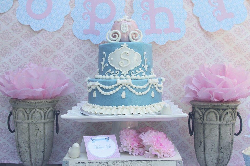Cinderella birthday party wwwsweetlychiceventscom photos by www